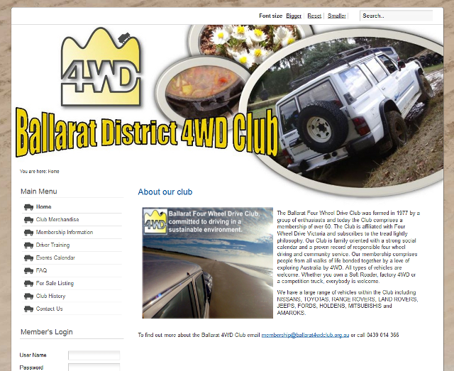 Ballarat District 4WD Club