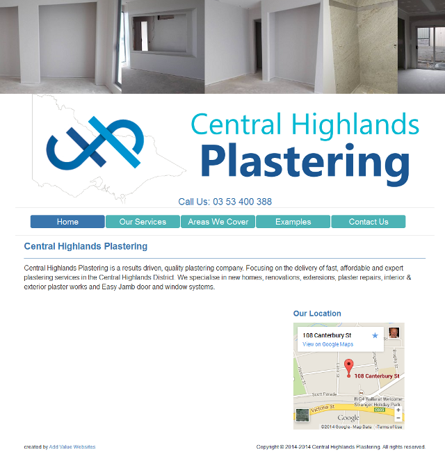 Central Highlands Plastering