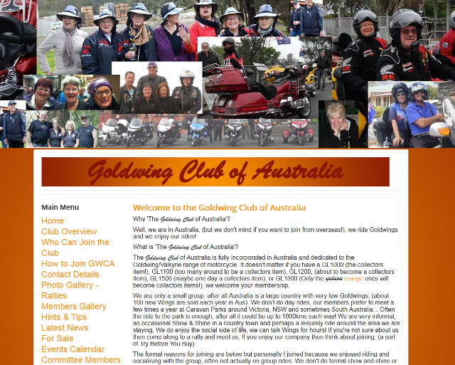 Goldwing Club of Australia